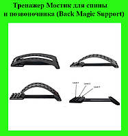 Тренажер Мостик для спины и позвоночника (Back Magic Support)!Опт