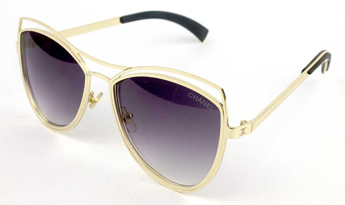 9dc2bc6612d1 Cолнцезащитные очки в Украине в стиле CHANEL, защитная линза полароид -  Интернет-магазин