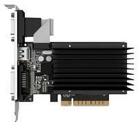 Видеокарта GeForce GT710, Gainward, 1Gb DDR3, 64-bit, VGA/DVI/HDMI, 954/1800MHz, Silent (426018336-3583)