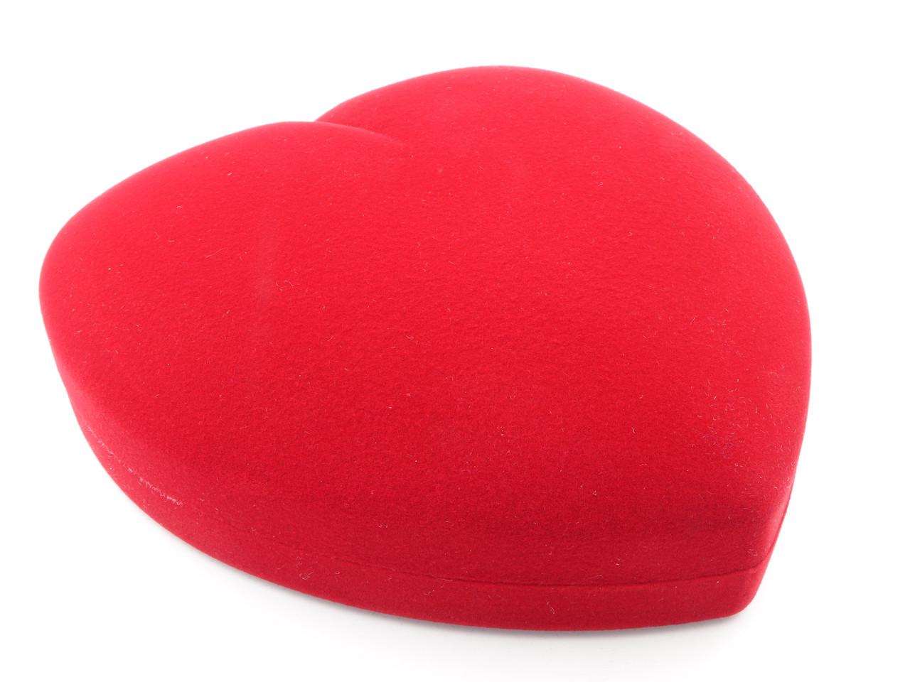 """Футляр под набор """"Сердце большое"""" красное"""