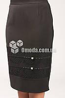 Женская юбка Галинка черного цвета