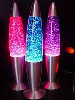 Лава лампа с блестками 48см , фото 2