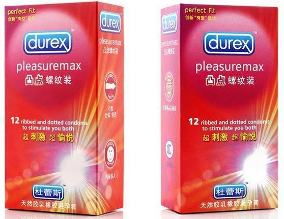 Презервативы  Durex Pleasuremax 12 шт