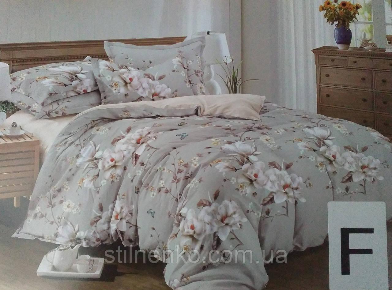 Евро комплект постельного белья SUPER VILLIhome textile 6 частей