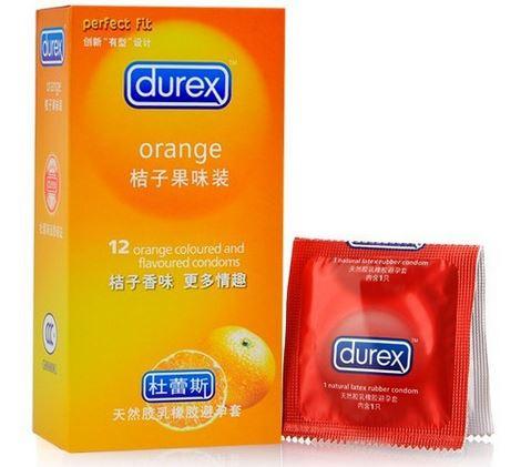 Презервативы  Durex Orange 12 шт