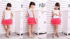 Комплект детский под сублимацию, цвет РОЗОВЫЙ