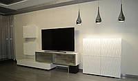 Мебель для гостинной с 3D фасадами, фото 1