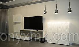 Мебель для гостинной с 3D фасадами