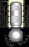 Аккумулирующая емкость Austria Email PSRR 1000L, фото 2