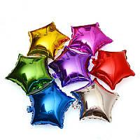 Шарик (45см) Звезда серебрянная