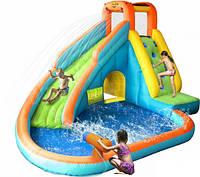 Надувная горка с бассейном Happy Hop