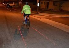 Лазерная велосипедная дорожка, фото 2