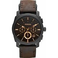 Мужские наручные часы Fossil Men's Machine FS4656 Brown