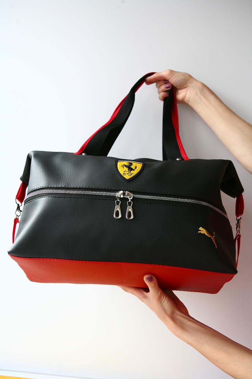 022789bc3842 Сумочки Ferrari Puma стильная спортивная сумка пума феррари , цена 520  грн., купить в Хмельницком — Prom.ua (ID#235784306)