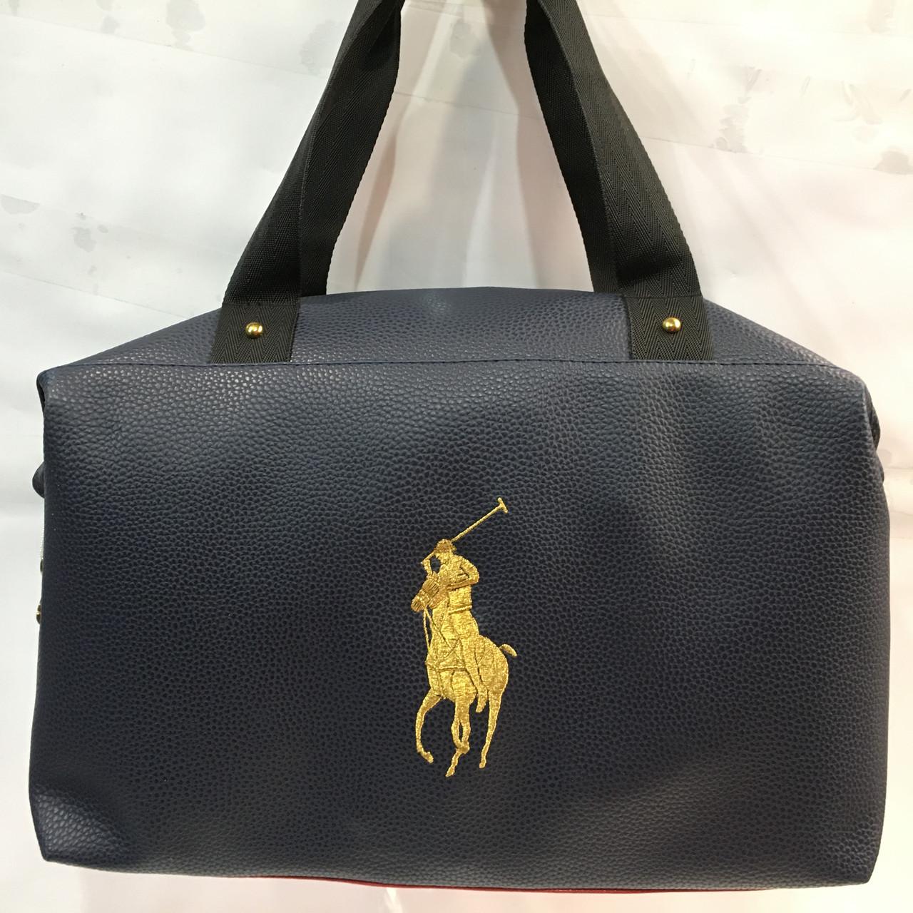 4df58ce08ab9 Вместительная стильная прочная модная качественная женская сумка POLO оптом  - магазин спортивных сумок в Харькове