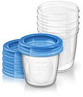 Контейнери для зберігання грудного молока Avent 5x180мл SCF619/05