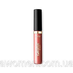 Помада матова рідка Tarte quick dry matte lip paint (low-key)