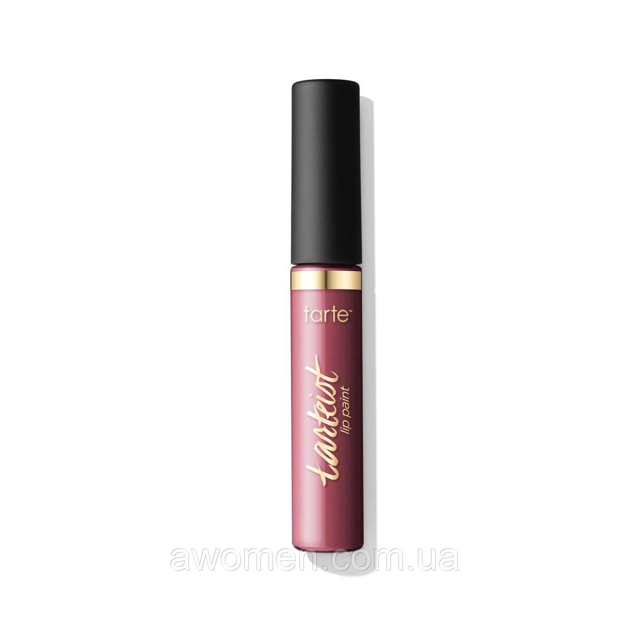Помада матовая жидкая Tarte quick dry matte lip paint (obsessed)