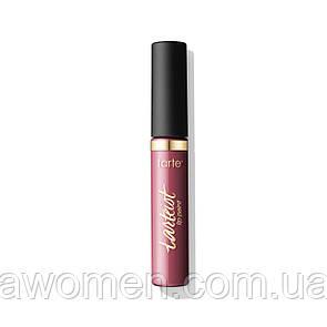 Помада матова рідка Tarte quick dry matte lip paint (obsessed)