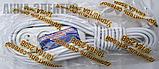 Удлинитель 3 гнезда карболит 10м.16А(белый, в упаковке) Харьков, фото 2