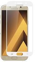 Защитное стекло Full screen Samsung A520 (A5-2017) (White), фото 1