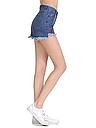 Шорты женские джинсовые (темно синие), фото 5