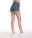 Шорты женские джинсовые (темно синие), фото 6