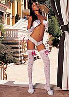 Чулки с сердечками 90202 Shirley of Hollywood
