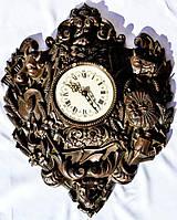 Шикарные старинные настенные часы! 55 см. Germany!