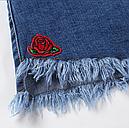 Шорты женские джинсовые (темно синие), фото 7