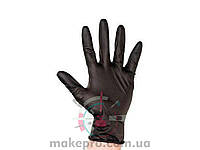 Упаковка перчаток S (чёрные 100 штук)