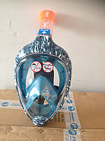 Маска для снорклинга,подводного плавания Easybreath Tribord/Subea Оригинал