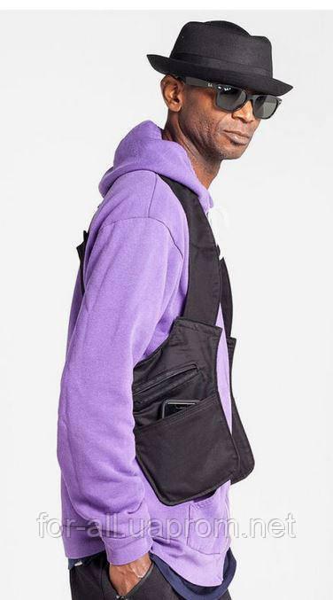 Фото Компактная мужская сумка через плечо Crossbody