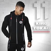 Kiro Tokao 183 | Толстовка мужская спортивная черная