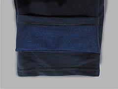 Мужские трикотажные спортивные штаны синие SPORT, фото 3