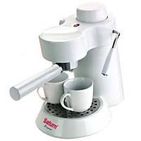 Рожковая кофеварка эспрессо Saturn ST-CM7086 white