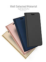 Кожаный чехол книжка Kiwis на Huawei Nova 4 (4 цвета)