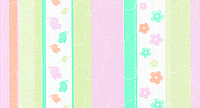 Обои бумажные Шарм Полоска детская  123-04  розово-салатовый