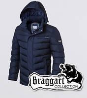 Мужская зимняя куртка на тинсулейте Braggart 2619 синяя