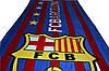 "Пляжное полотенце  ФК ""Барселона"" с логотипом  любимого футбольного клуба, фото 2"