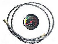 Указатель давления масла +шланг МД 219 (МТТ-10)   10 Атм  (механический)
