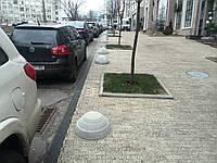 Полусфера бетонная декоративная (500*250)