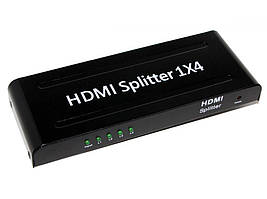 Контролер, сплітер Atcom HDMi Splitter 4port, UHD 4K