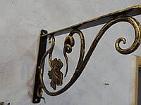 Полка кованая (кронштейн) арт.пи №17, фото 1