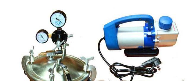 Набір для вакуумування эпоксиной смоли(камера + вакуумний насос)