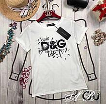 Женская футболка с надписьюI have a beautiful life 42-46 р, фото 3