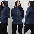 Демісезонна куртка утеплена. Нова колекція QARLEVAR 2XL-6XL (46-56), фото 3