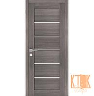 """Межкомнатная дверь ПГ """"Порта 22"""" серии """"Porta-X (3D-Graf)"""" (серый)"""