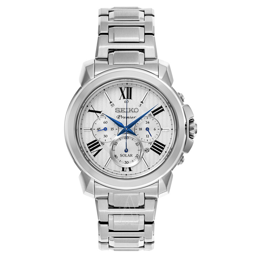 Часы Seiko Premier Chronograph SSC595P1 SOLAR V175