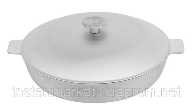 Сковорода с рифленым дном БИОЛ А301 (300х119 мм) крышкой, две ручки в интернет-магазине